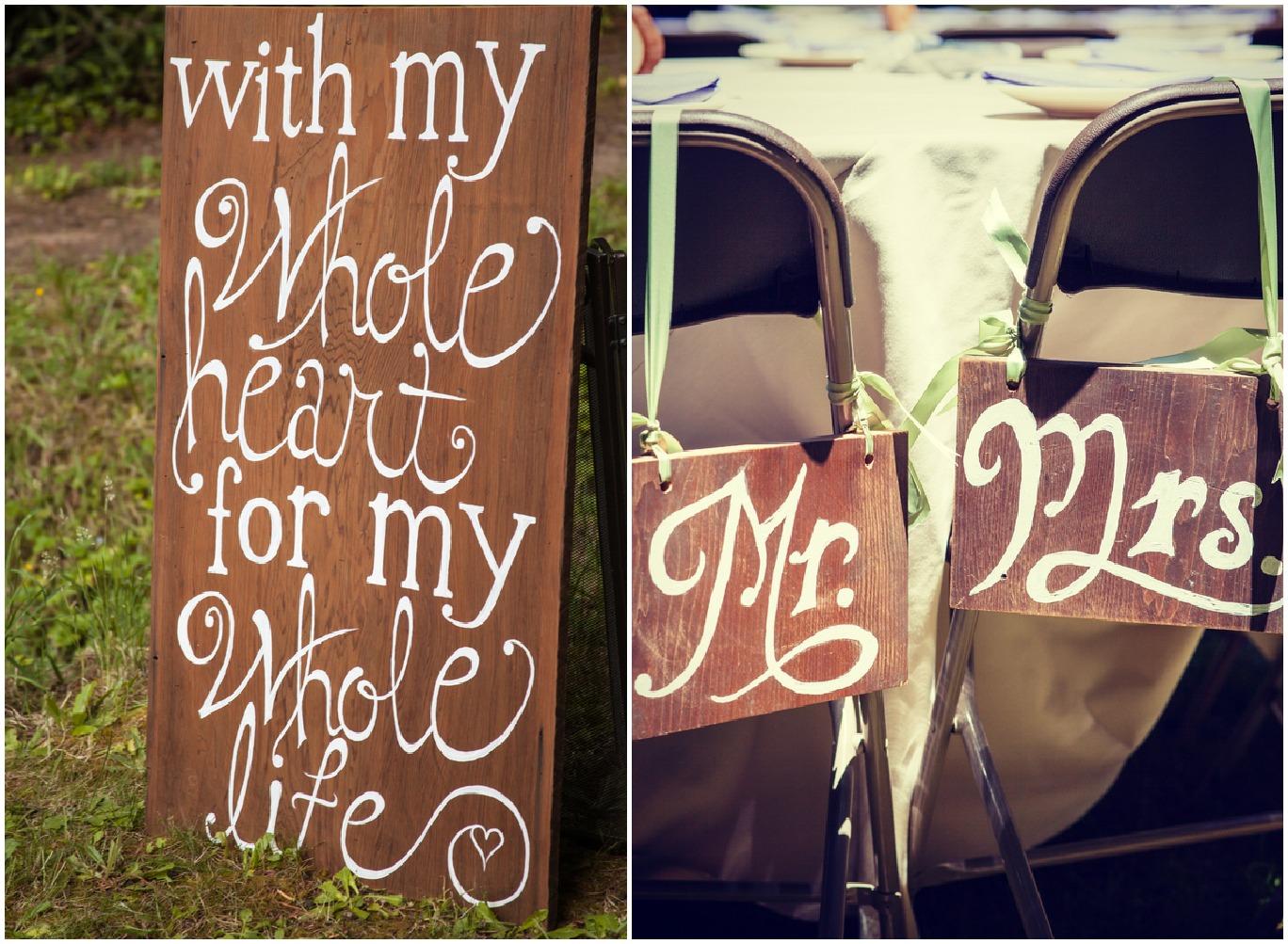 California Rustic Wedding