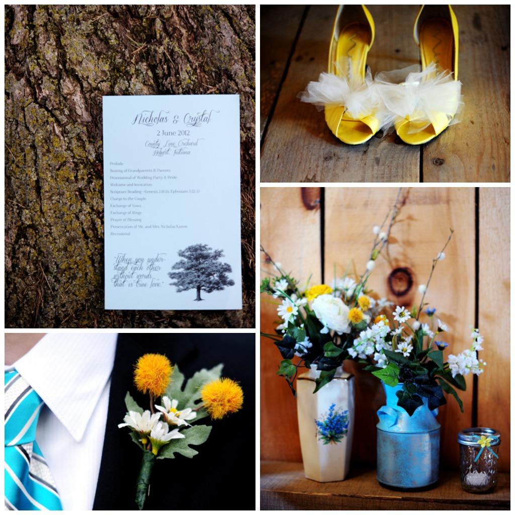 Barn Weddings: Indiana Barn Wedding