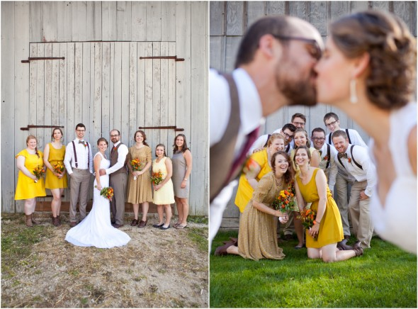 Yellow Rustic Wedding Theme