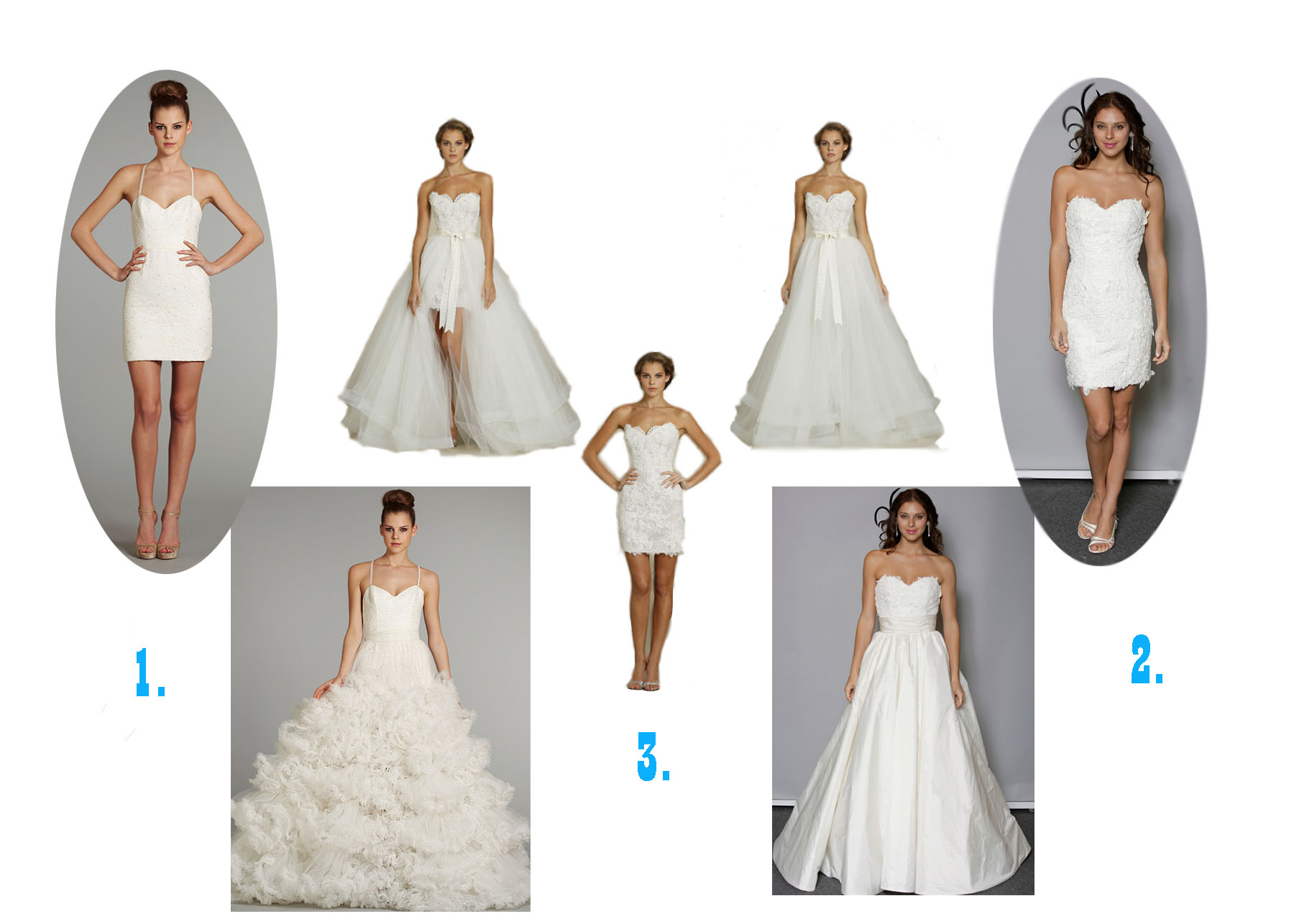 Different Style Wedding Dresses