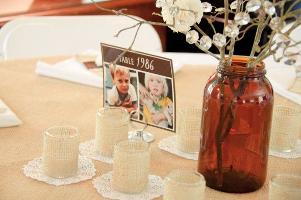Fun Wedding Table Numbers