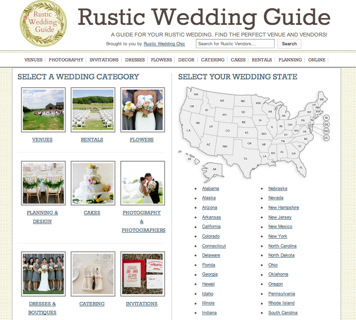 Rustic Wedding Guide