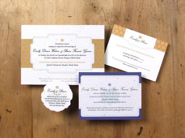 Wedding Invitations Eco Friendly: Eco-friendly Wedding Invitations