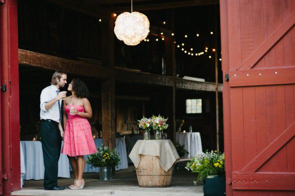 Backyard Barn Wedding