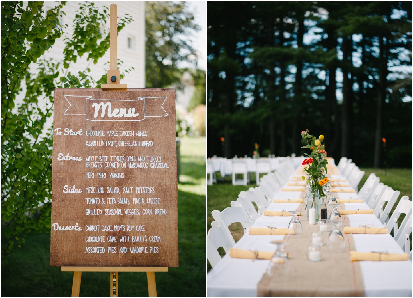 New Hampshire Barn Wedding - Rustic Wedding Chic