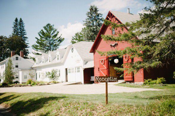 Barn Wedding In New Hampshire
