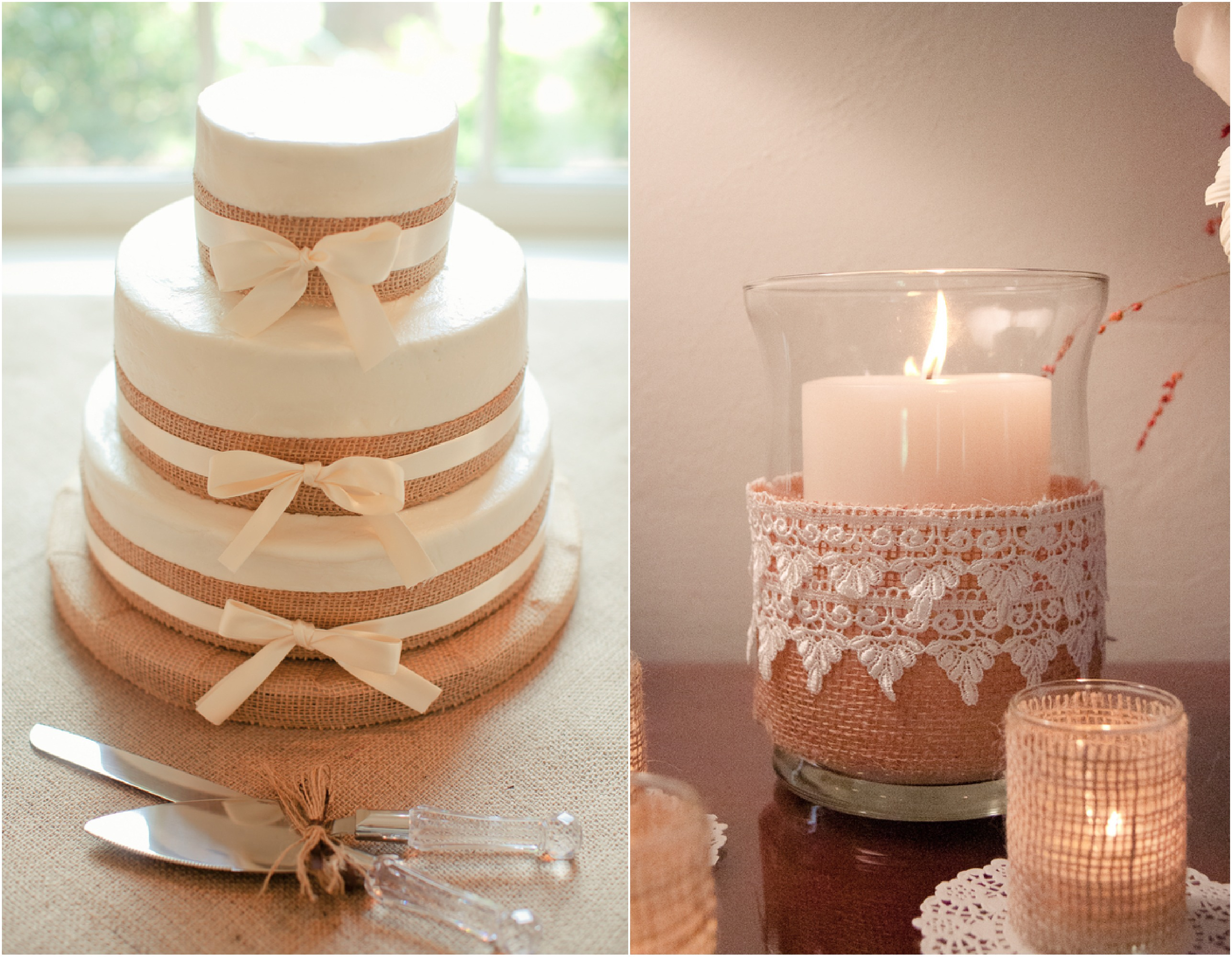 Rustic Wedding Ideas With Burlap images