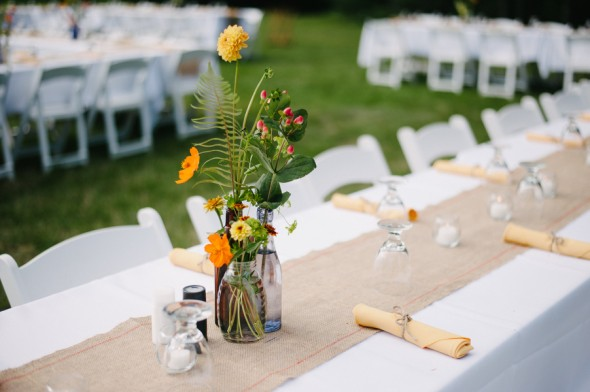 Flowers For A Backyard Wedding