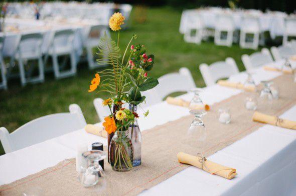 Flowers For A Backyard Wedding