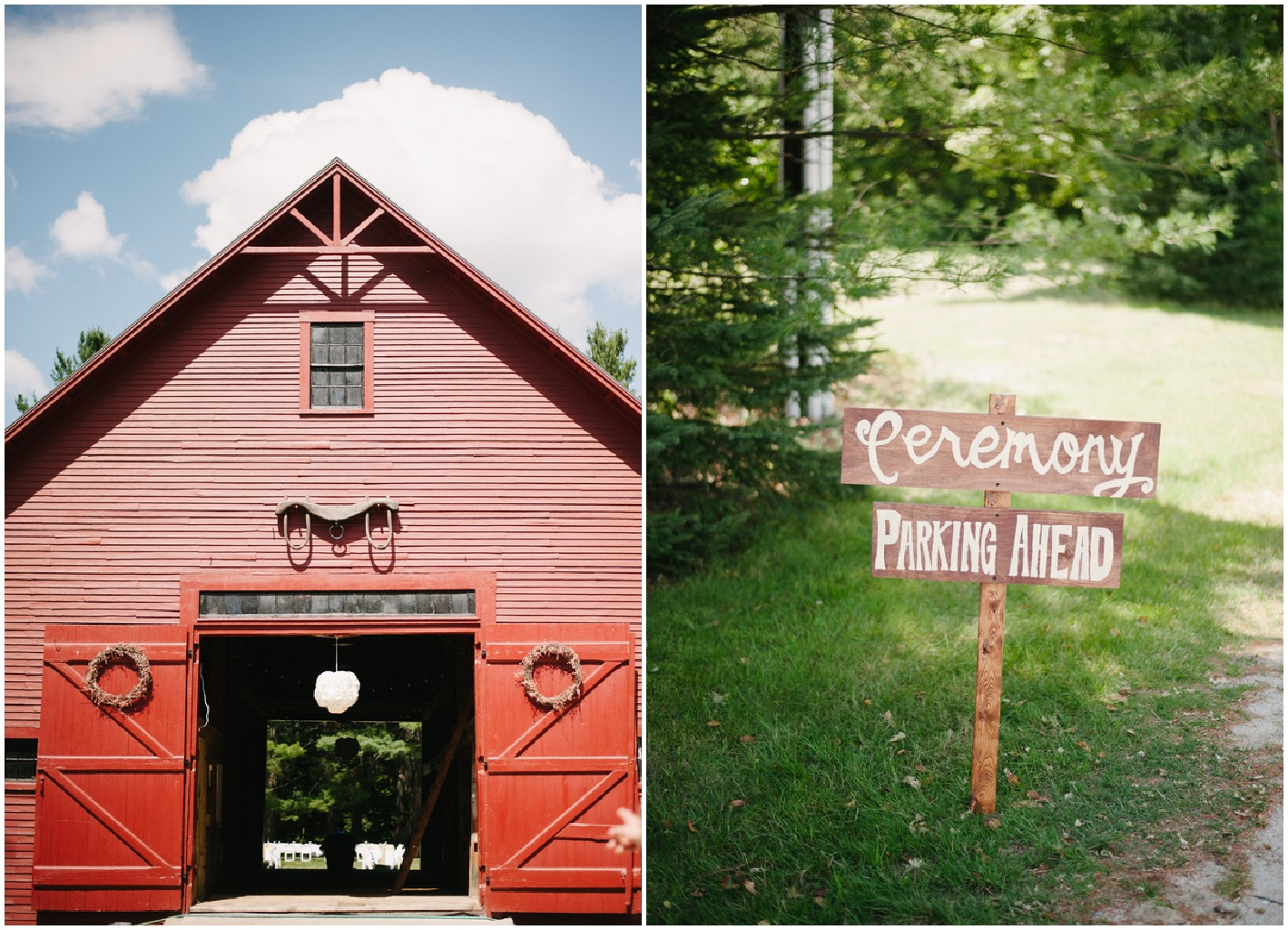 A Barn Wedding In New Hampshire