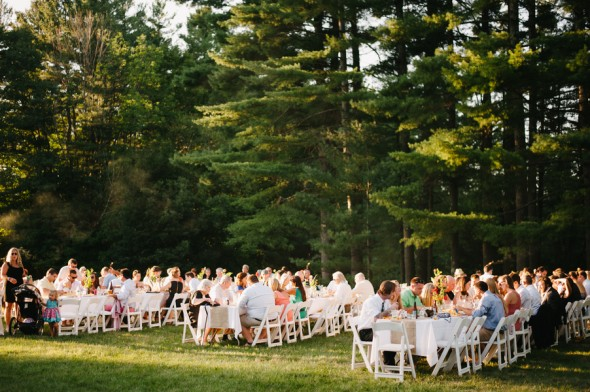 Outdoor Backyard Wedding