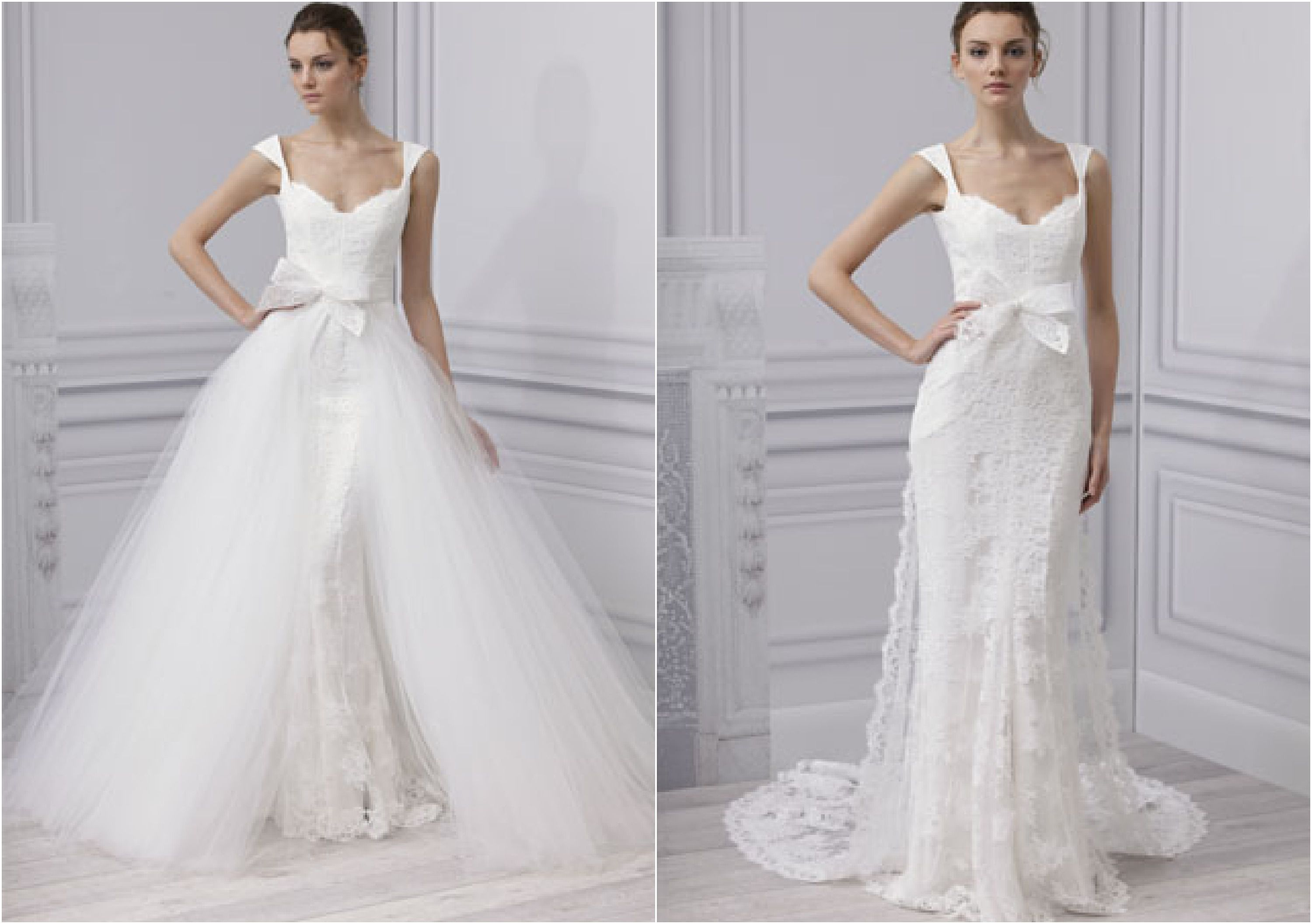 Wedding Dresses With An Overskirt - Rustic Wedding Chic
