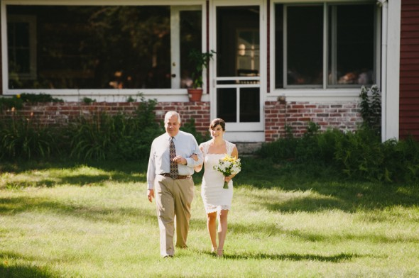 Relaxed Backyard Wedding
