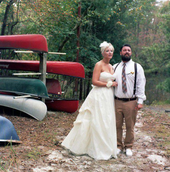 Rustic Woodsy Wedding Ideas: Woodsy Lakeside Wedding