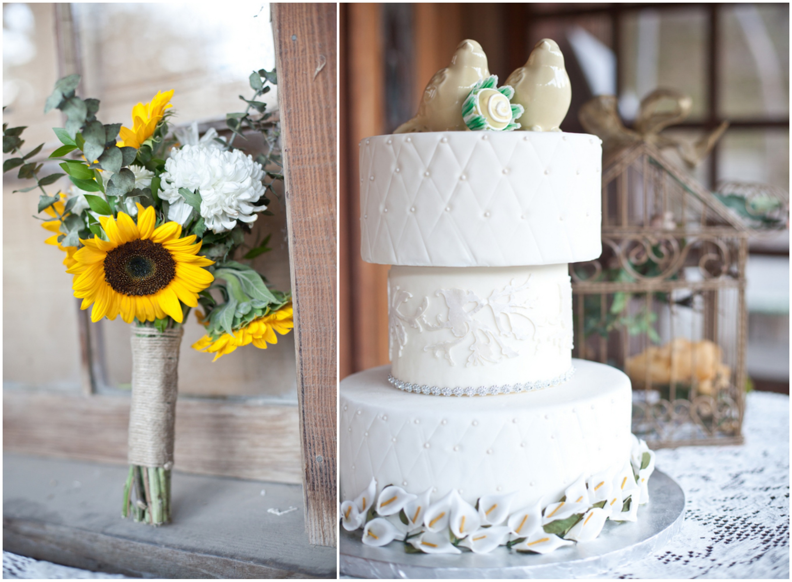 Inspiration For A Sunflower Country Wedding Rustic