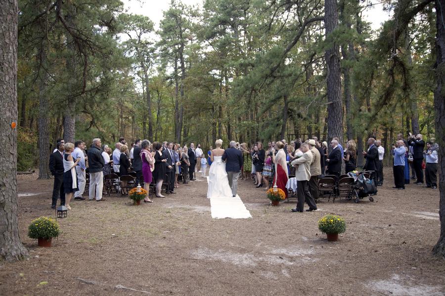 Woodsy Lakeside Wedding