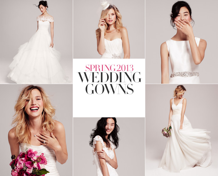 2013 Wedding Gown Trends