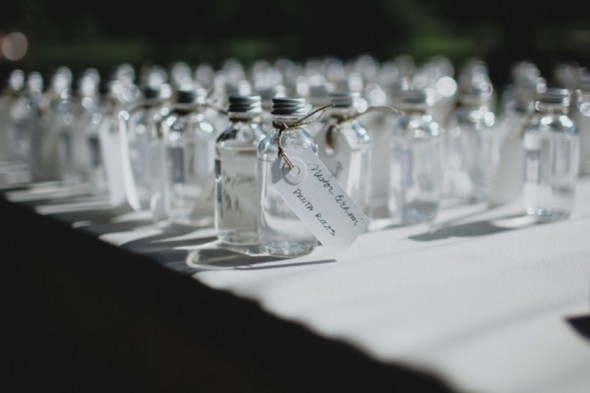 Little Favor Bottles For Wedding