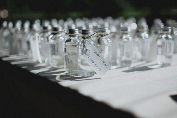 Little Favor Bottles For Wedding