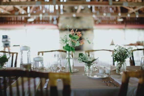 Rustic Wedding In Barn