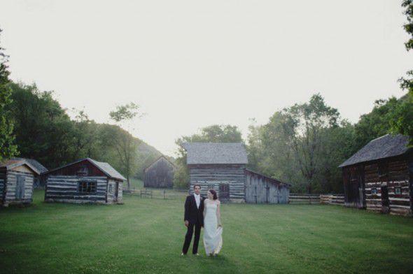 Rustic Country Bride Groom