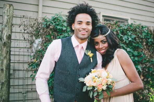 Vintage Style Rustic Wedding