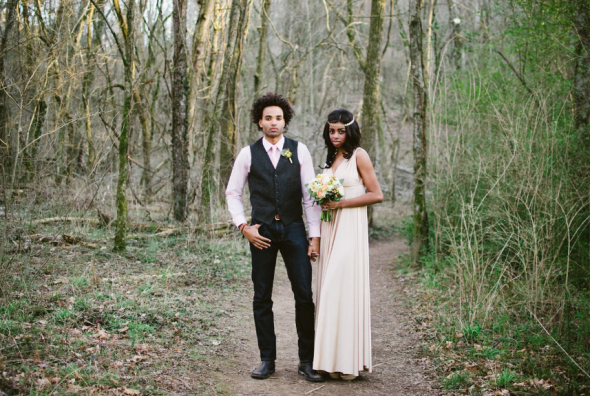 rustic wedding couple nashville