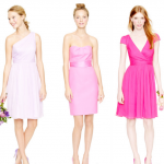 Pink J. Crew Bridesmaid Dresses