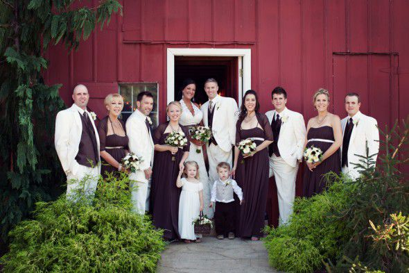 Barn Wedding In Missouri