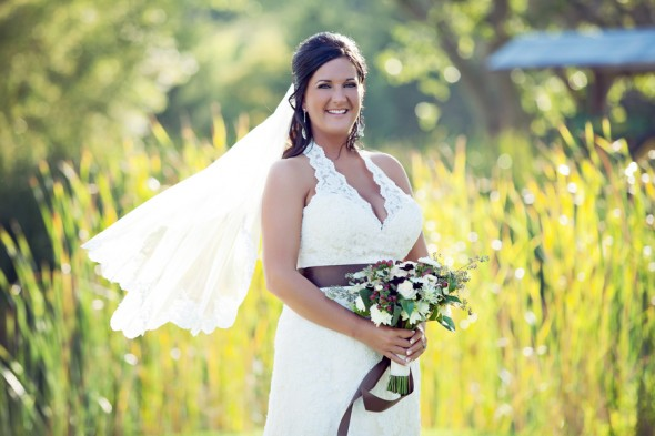 Country Wedding bride