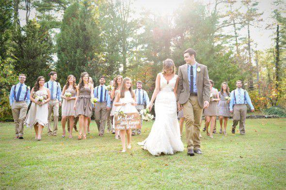 Rustic Wedding North Carolina