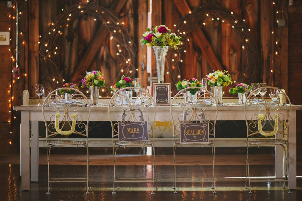 Derby Wedding Themed Styled Shoot - Rustic Wedding Chic