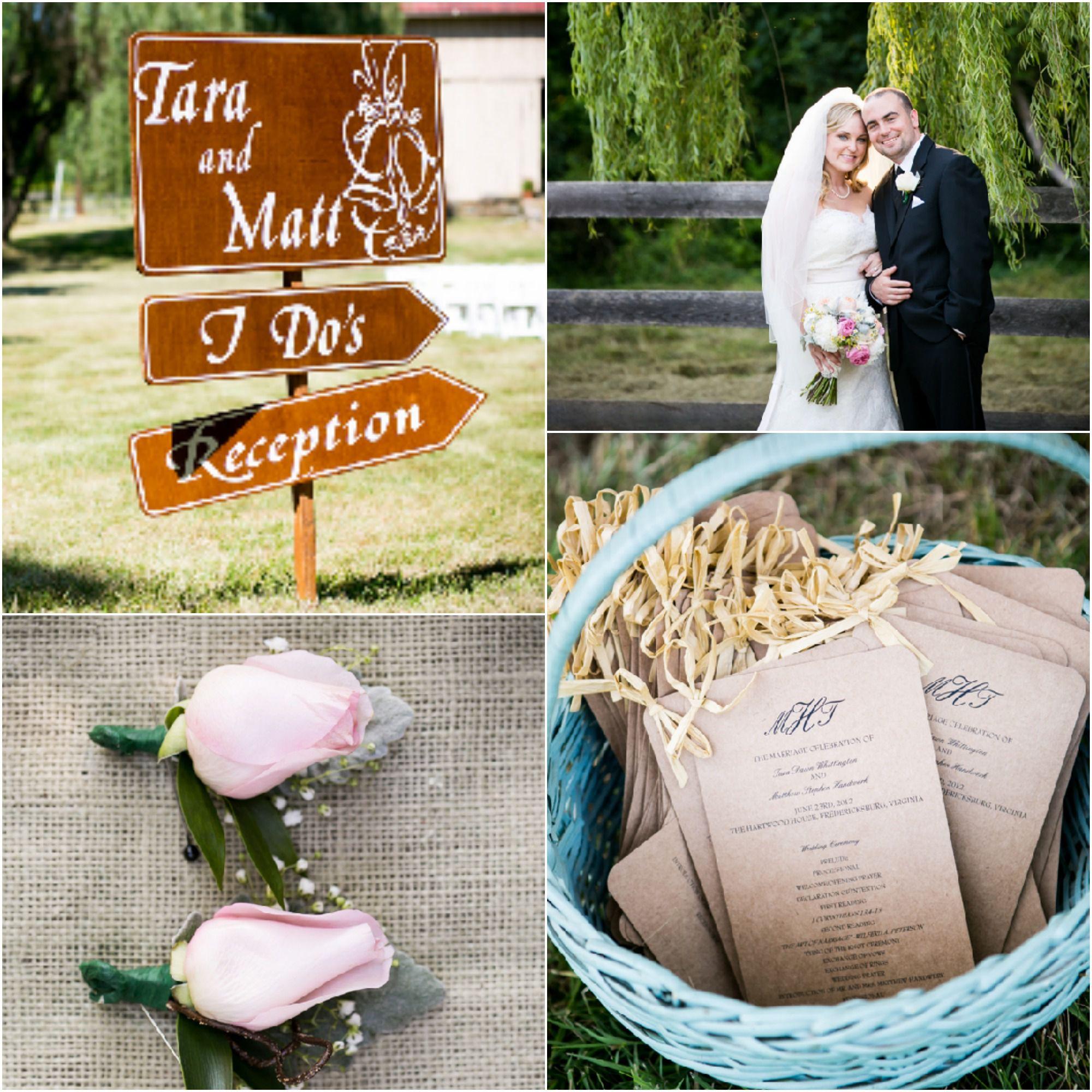 Vintage Farm Wedding Details