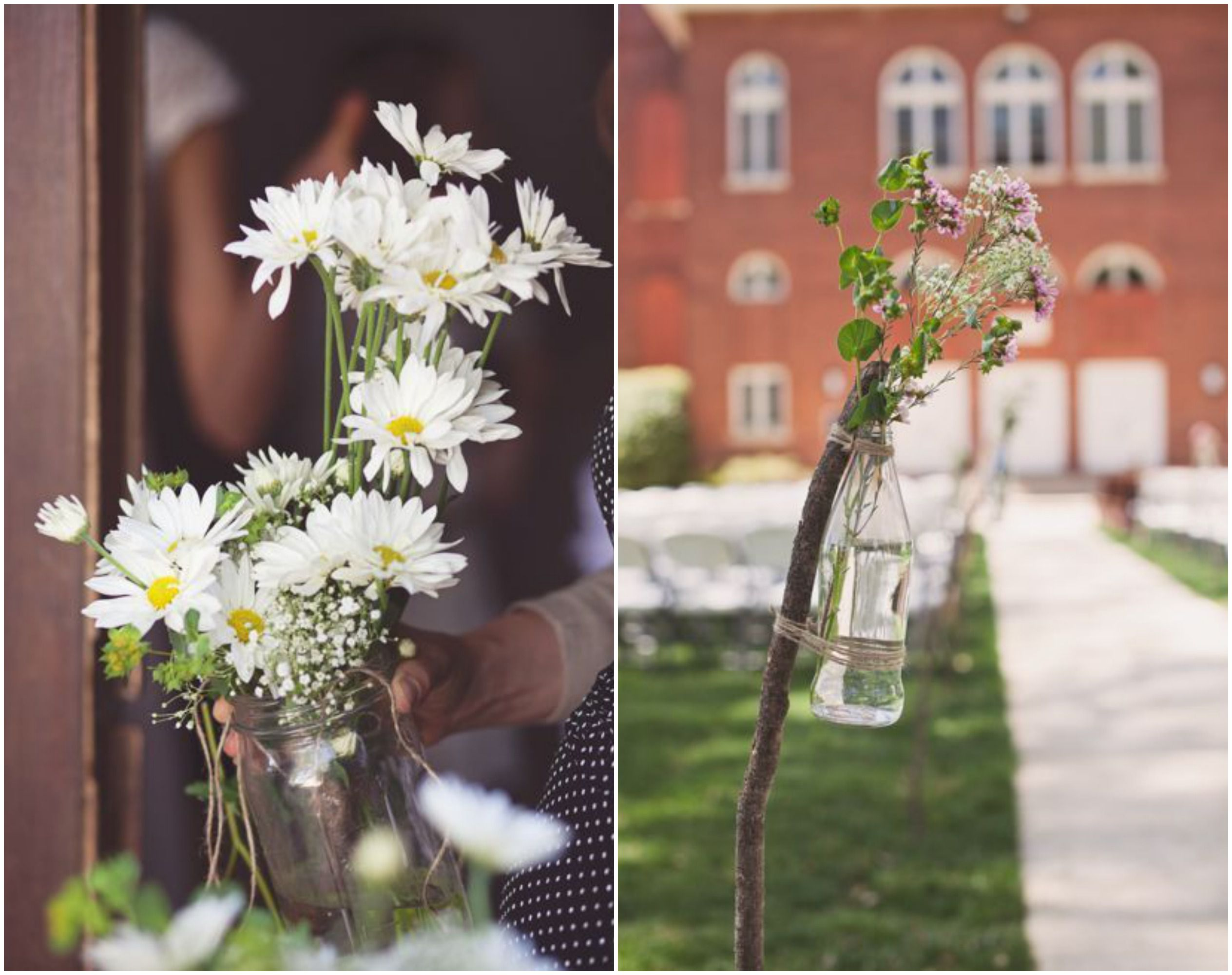 Do It Yourself Outdoor Wedding Ideas Outdoor Weddings Do: Country Rustic DIY Wedding