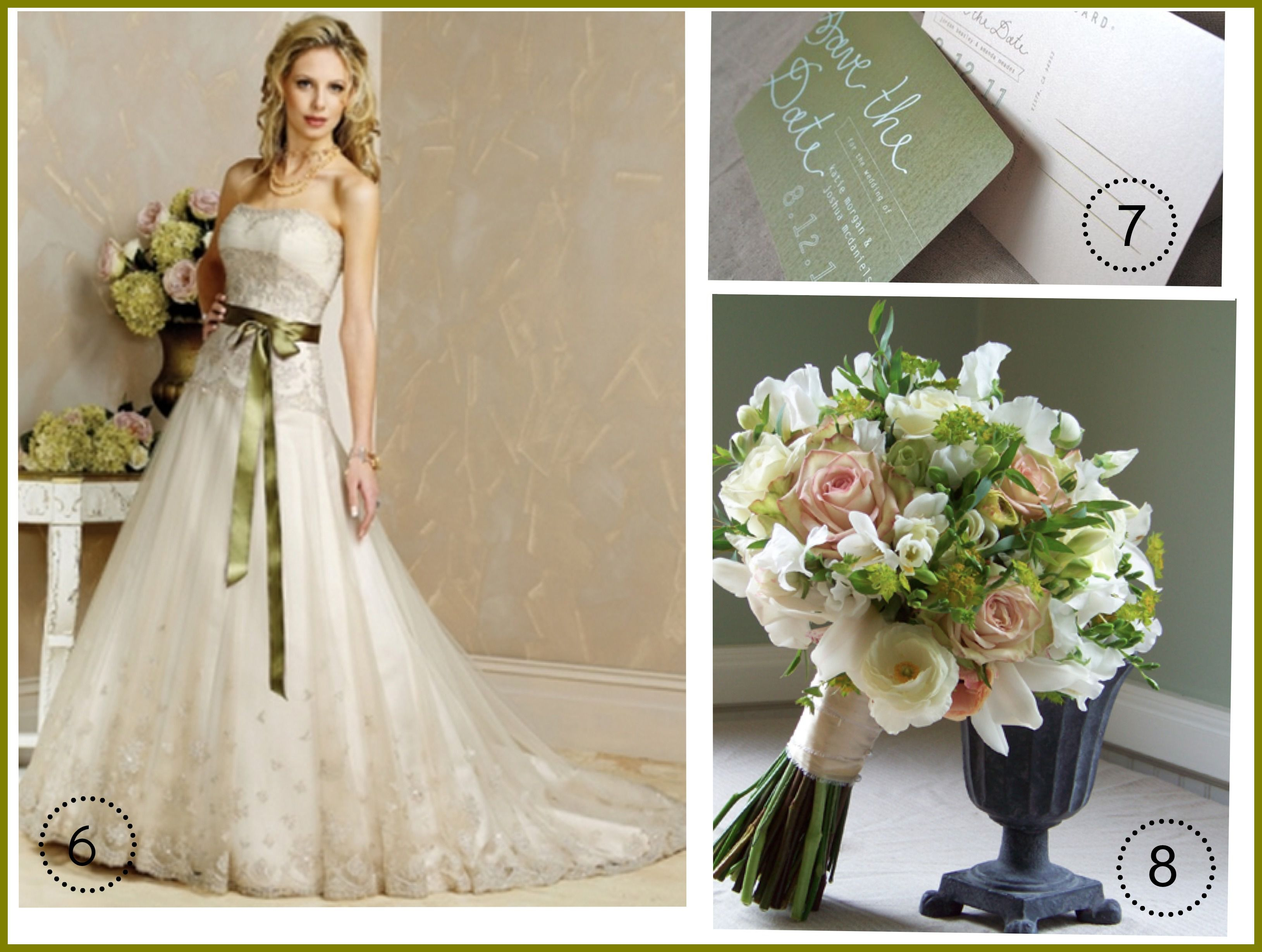 Wedding Dress Ideas: Ideas For An Olive Green Wedding