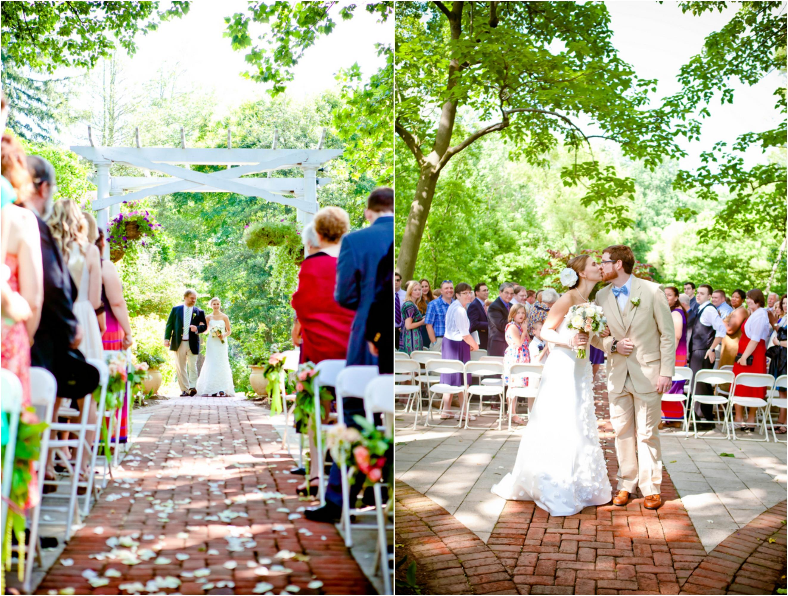 Outdoor Maryland Wedding At Elkridge Furnace Inn