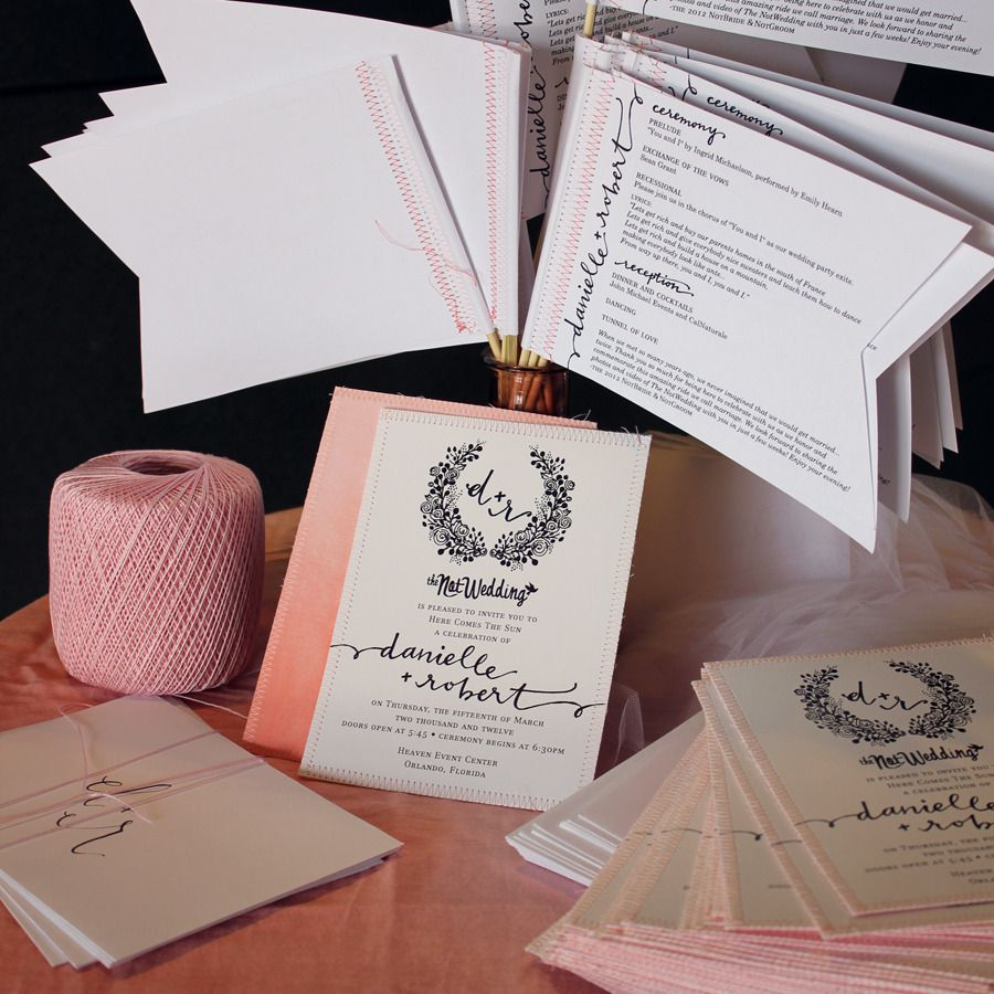 Wedding Invitations For Spring