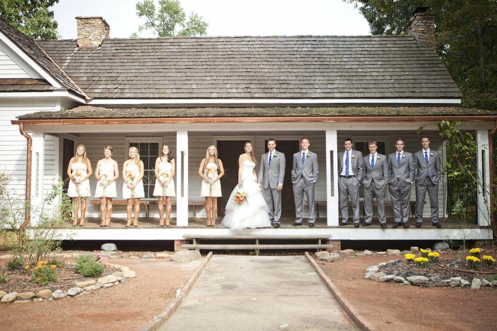 Rustic Wedding With Bridesmaids In Cowboy Boots Rustic Wedding Chic,Corset Halter Top Wedding Dress