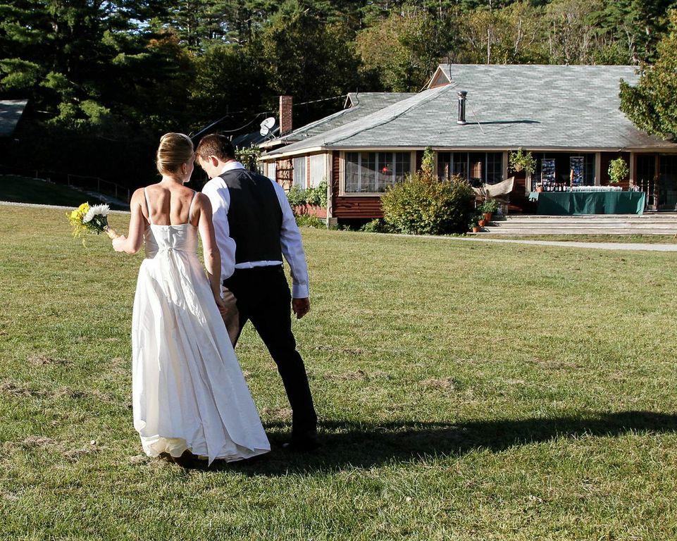 camp style wedding rustic wedding chic