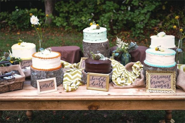 Wedding Cake Buffet