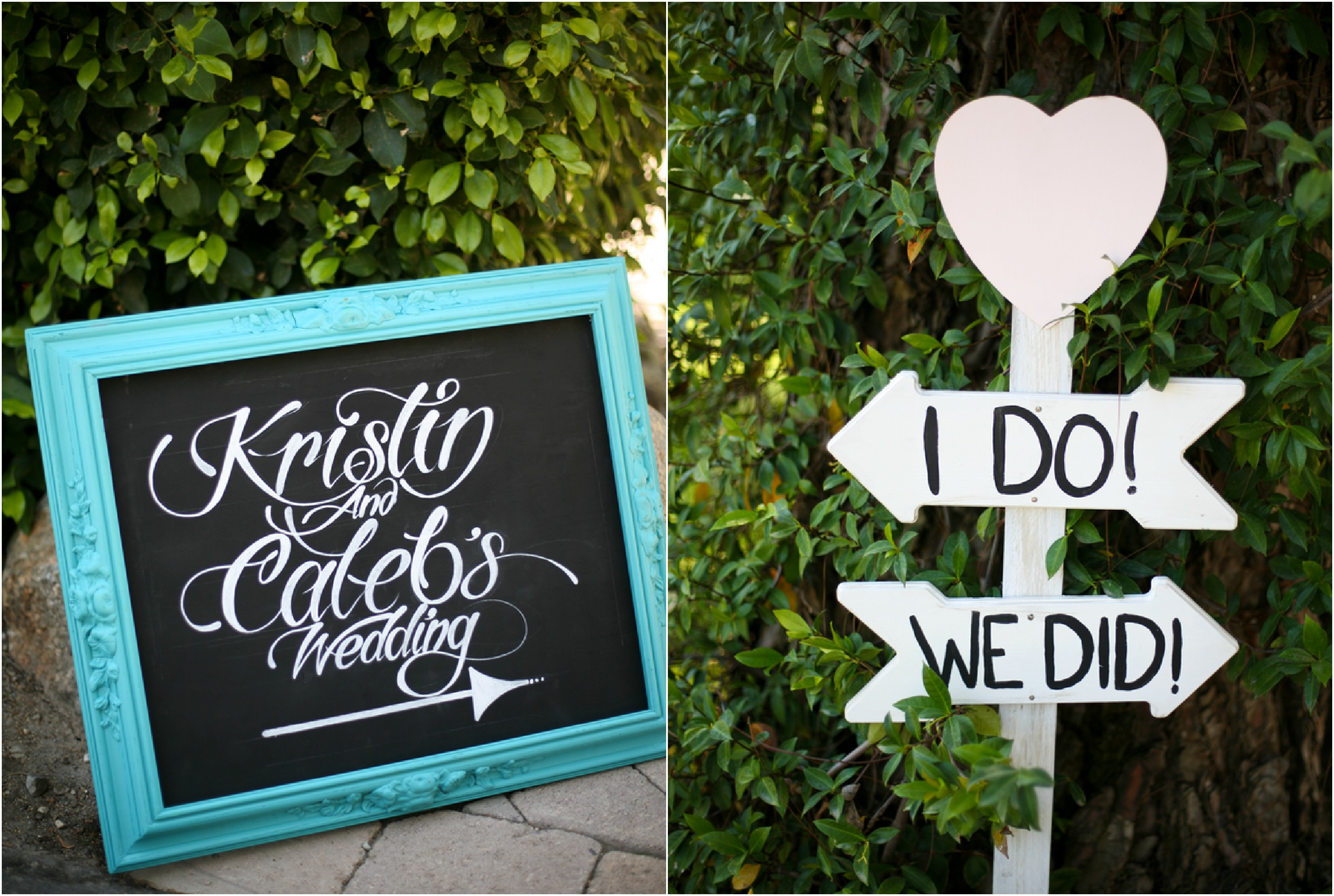 California Rustic Vintage Garden Wedding