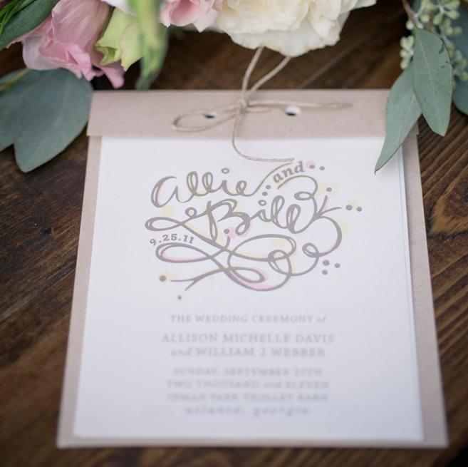 wedding invitations for spring