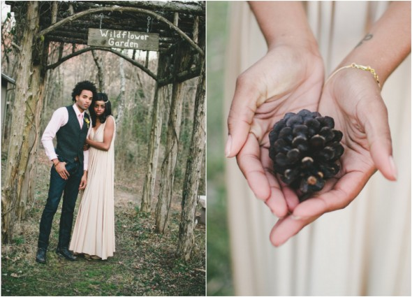 Woodsy Rustic Wedding