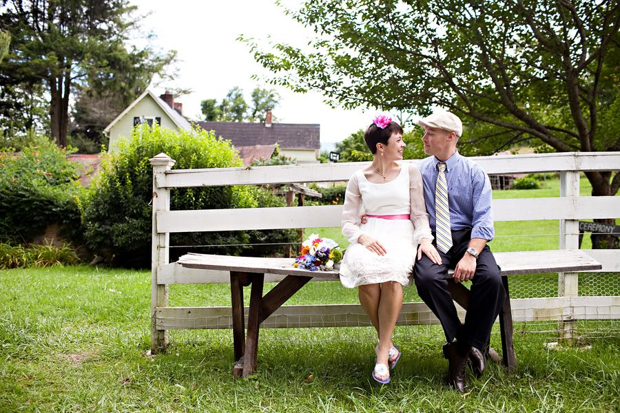 Vintage and country wedding style