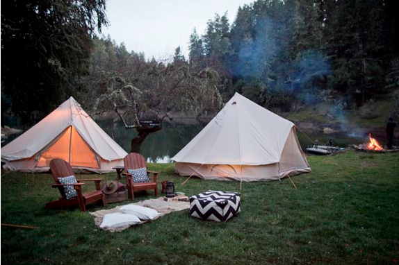 Tents Shelters Rentals : Vintage items you can rent for your wedding rustic