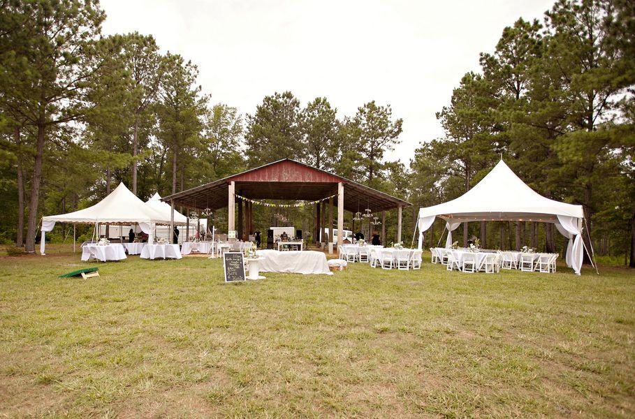 Barn & Tents wedding