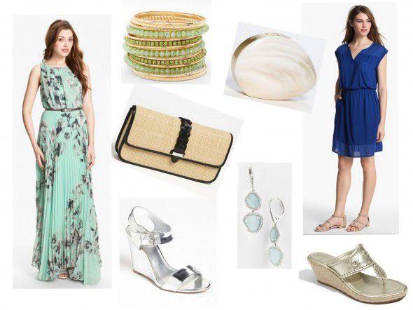 What to wear to a backyard wedding