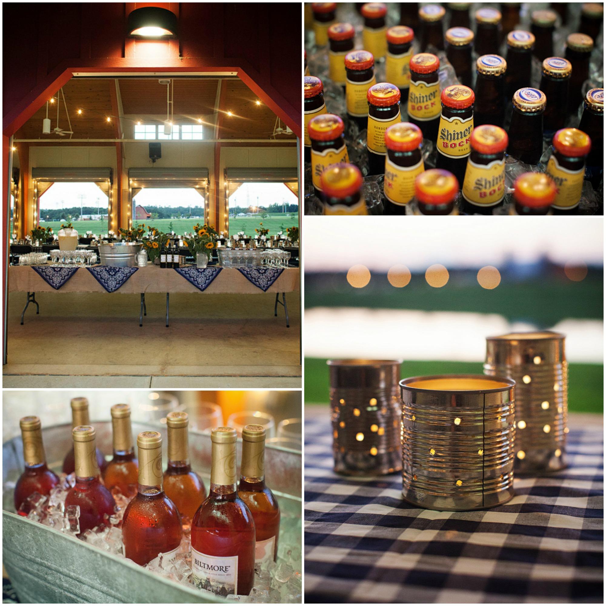 Barn Wedding Ideas: Rustic Barn Wedding Rehearsal BBQ