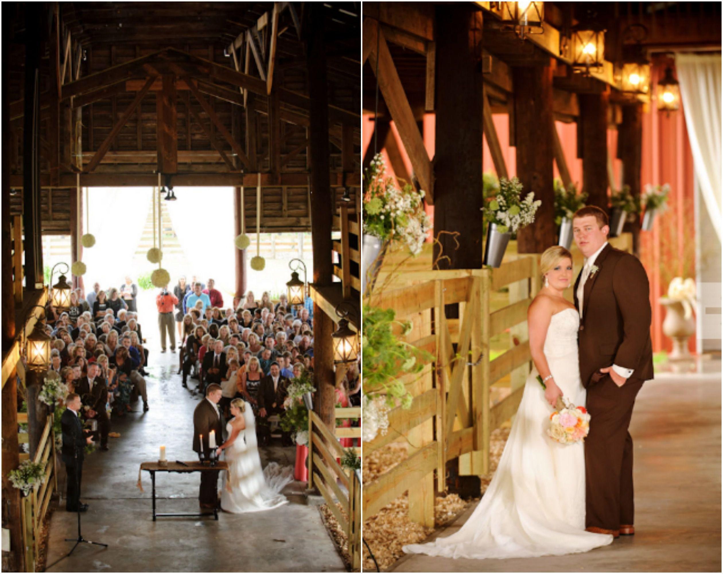 Barn Wedding Rustic Florida