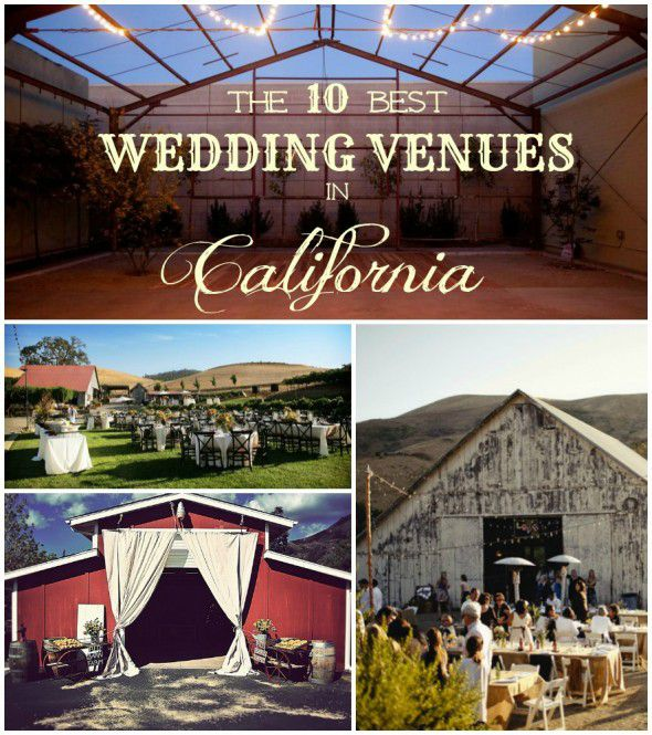 Small Wedding Venues California: The 10 Best Rustic Wedding Venues In California